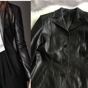Jackets & Blazers - Leather suit
